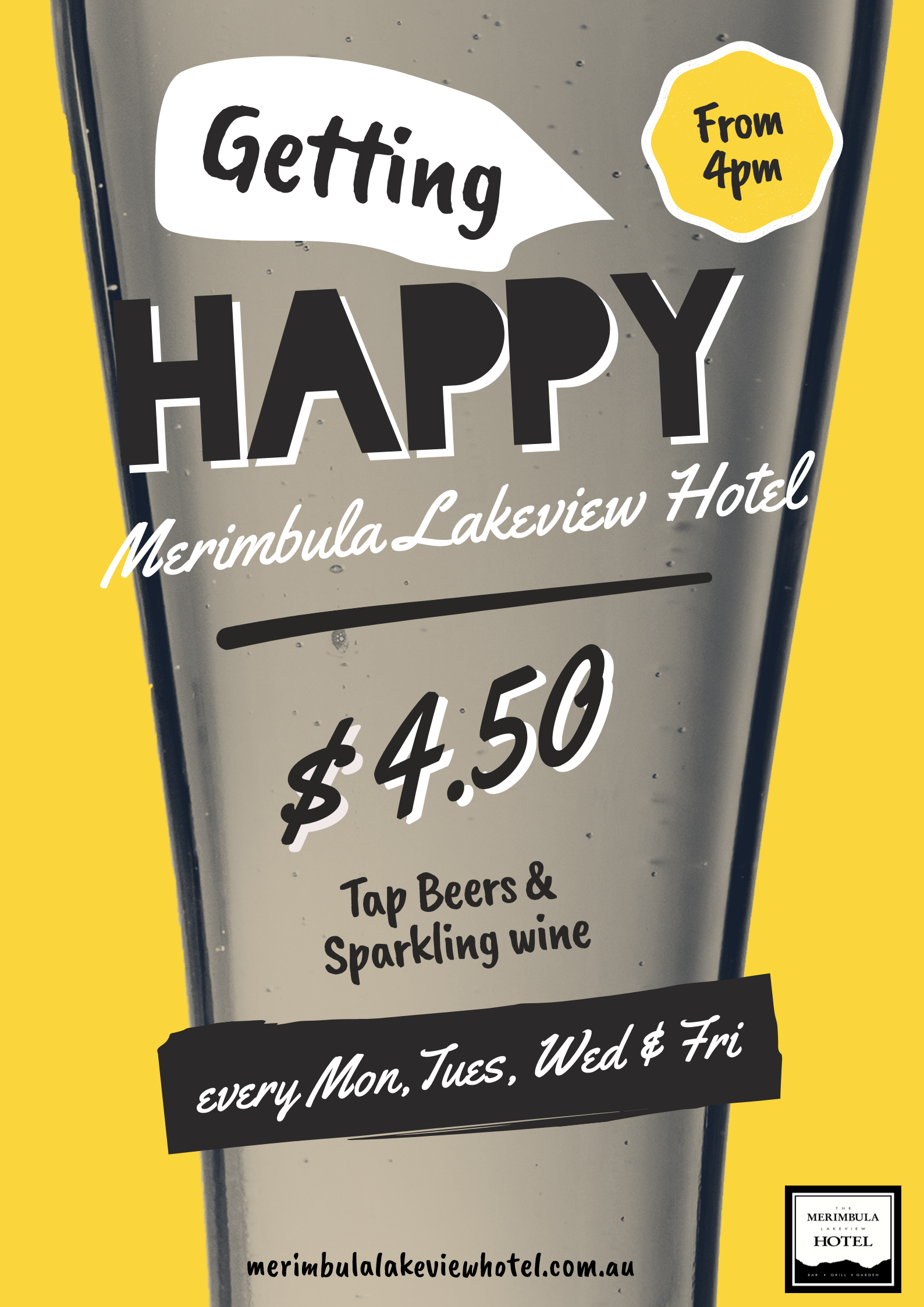 happy hour at merimbula lakeview hotel