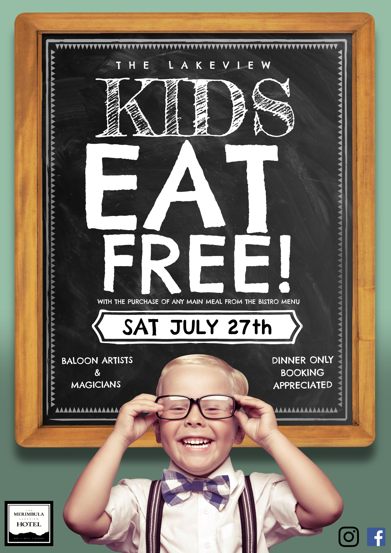 kids eat free july 27