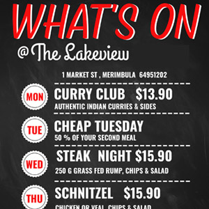 whats on in july at merimbula lakeview hotel