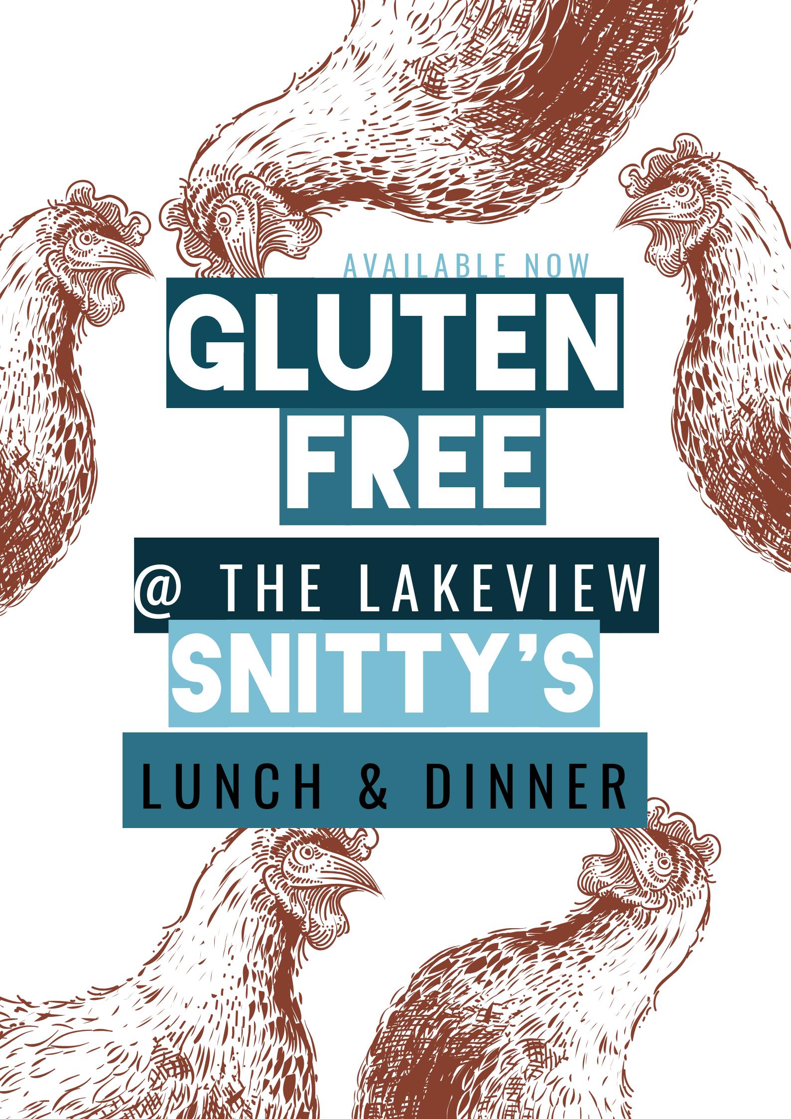 gluten free schnitzels at merimbula lakeview hotel