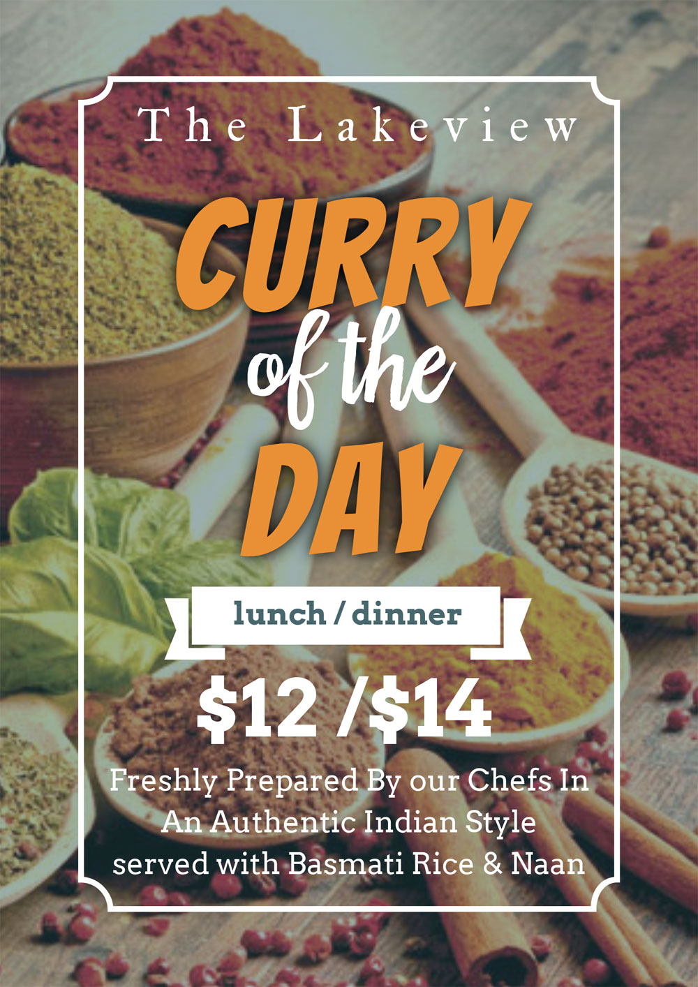 curry of the day merimbula lakeview hotel